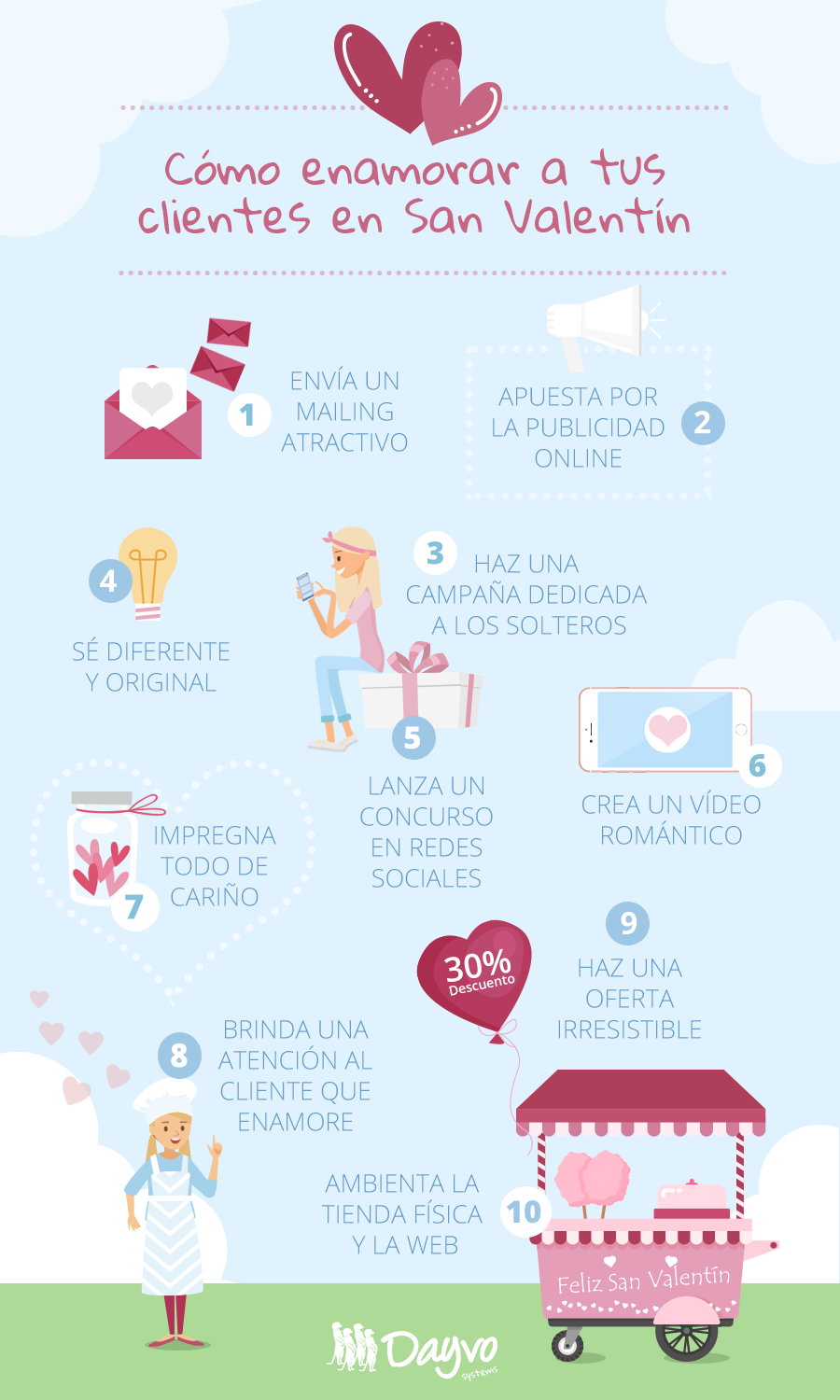 marketing san valentin infografia